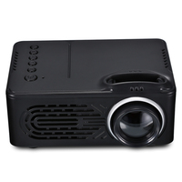 RD 814 Portable LED Mini Projector Multimedia for Photo Music Movie Text Home Theater Projectors beamer projecteur