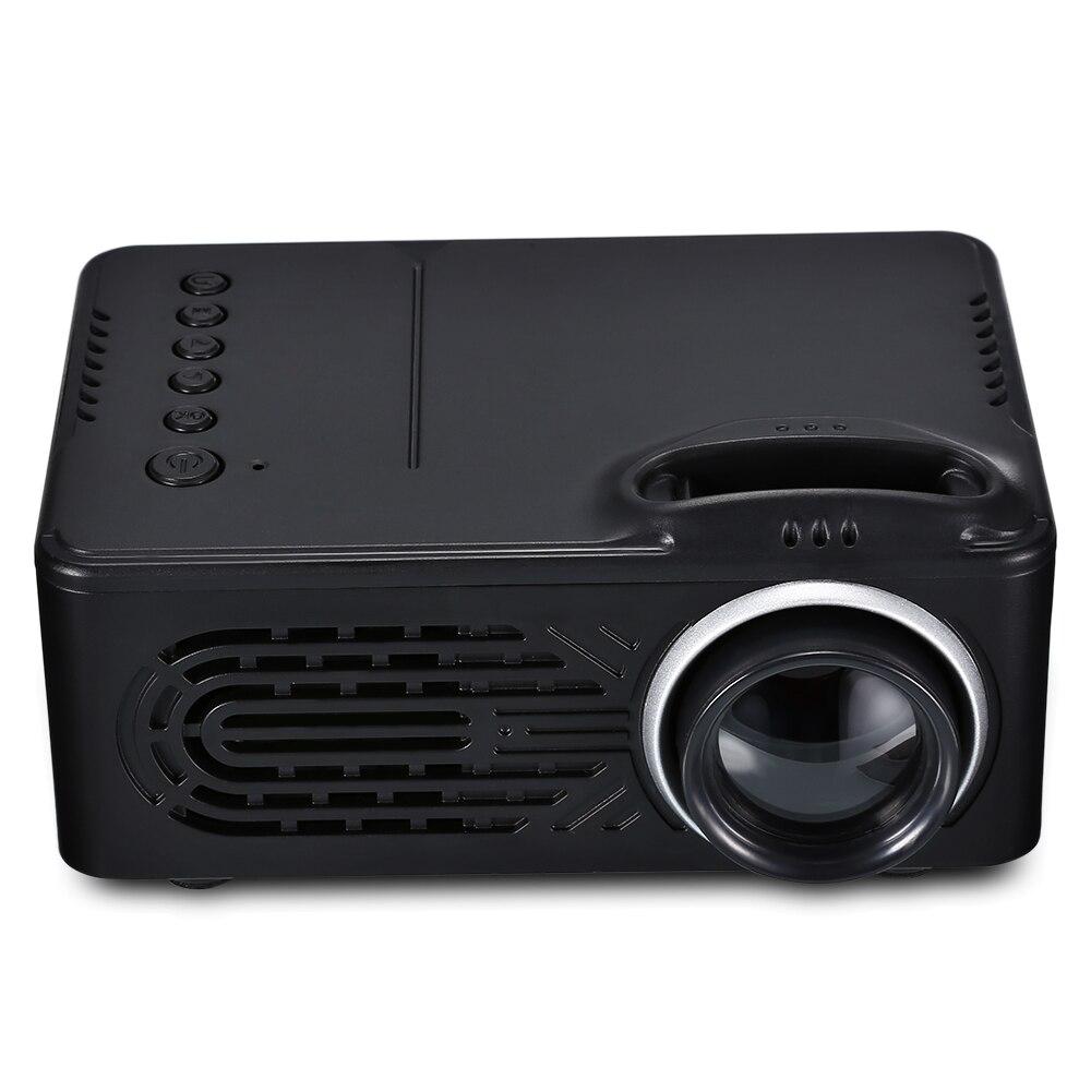 RD-814 Portable mini projecteur LED multimédia pour Photo musique film texte Home cinéma projecteurs projecteur