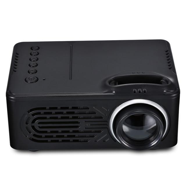 RD-814 Xách Tay LED Chiếu Mini Đa Phương Tiện cho Ảnh Âm Nhạc Movie Văn Bản Rạp Hát Tại Nhà Máy Chiếu máy chiếu projecteur