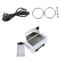 300W High Temperature Manicure Nail Art Sterilizer with Hot Air Disinfection Cabinet For Nail Art Equipment EU PLUG nv 210 HWC