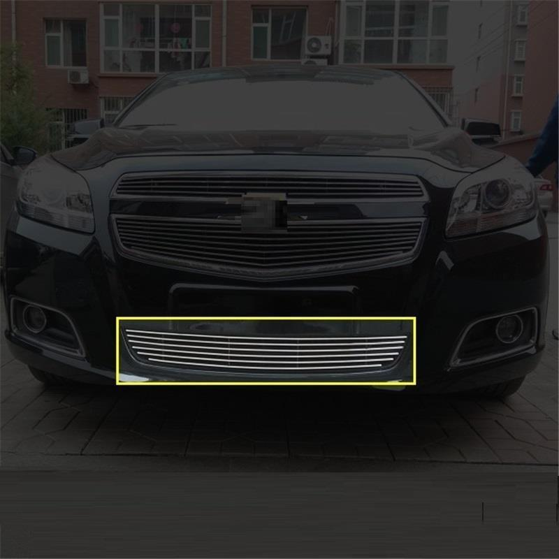Automobile Grille Exterior High-Grade Parts Bright Sequins Car Styling Mouldings Accessories 12 13 14 FOR Chevrolet Malibu