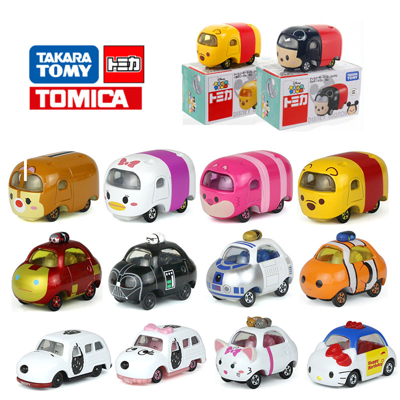 Takara Tomy Tomica The Roadster Racers Metal Diecast Vehicle Toy Cars Mickey Minnie Donald Duck Daisy Pete Goofy New