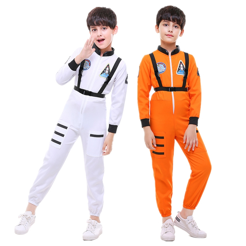 Home Stewardess Role Play Pilot Uniform Kdis Costume Girls Military Boys Flight Attendant Clothing Halloween Costume For Kid Disguise Vivid And Great In Style