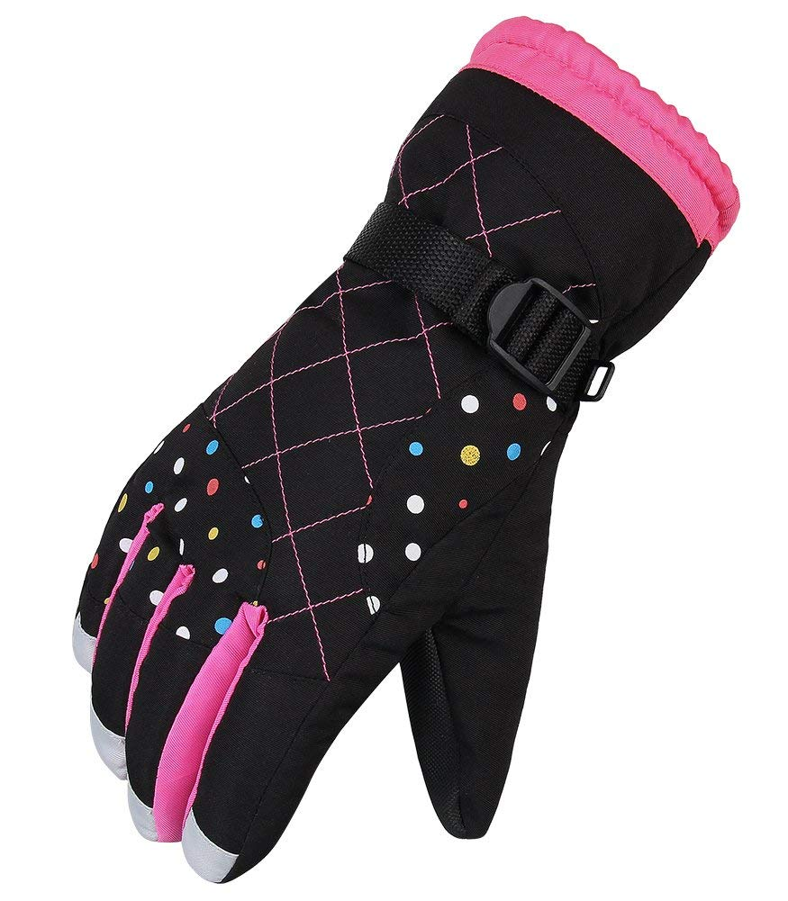 Winter Gloves For Women Snow Gloves Warm Waterproof