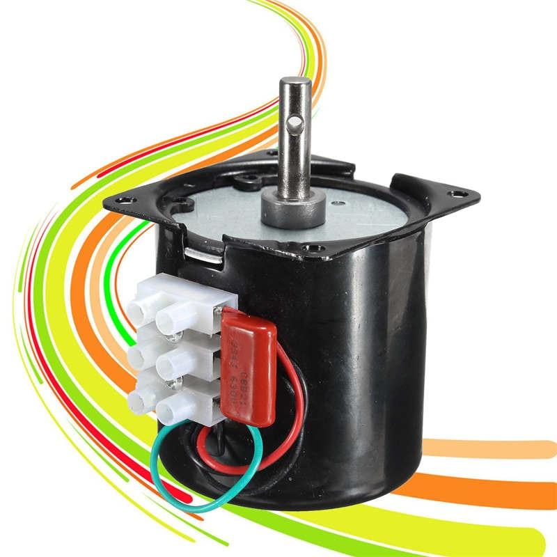 60KTYZ 220V 14W Permanent magnétique synchrone moteur à courant alternatif Machine à engrenages 50Hz 20R/min moteur accessoire