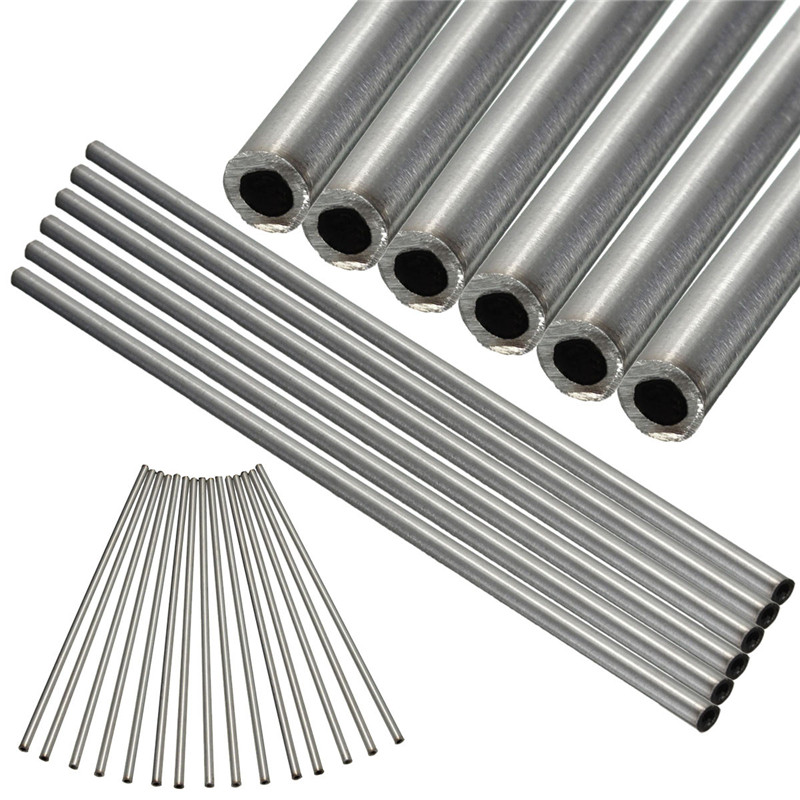 1PC OD 6mm X 4mm ID 304 Stainless Steel Capillary Tube Length 250mm Mainly For Aviation Antenna
