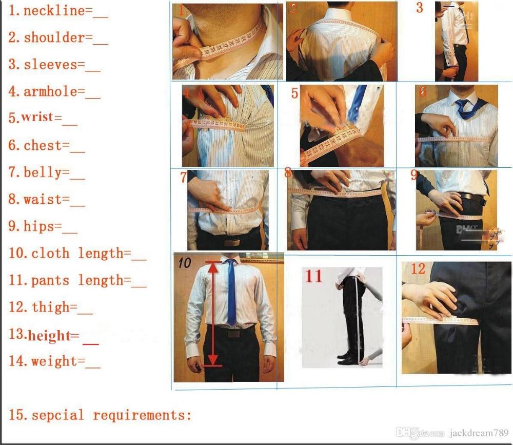 Slim Fit Azul Marinho Xaile Branco Lapela Do Noivo Smoking Padrinhos Homens Ternos de Casamento Best Man (Jacket + Pants + gravata + Lenço) - 2