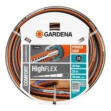Шланг поливочный GARDENA 18083-20.000.00 (Длина 25 м, диаметр 19мм (3/40), максимальное давление 30 бар, армированный, светонепроницаем, устойчив к ультрафиолетовому излучению)