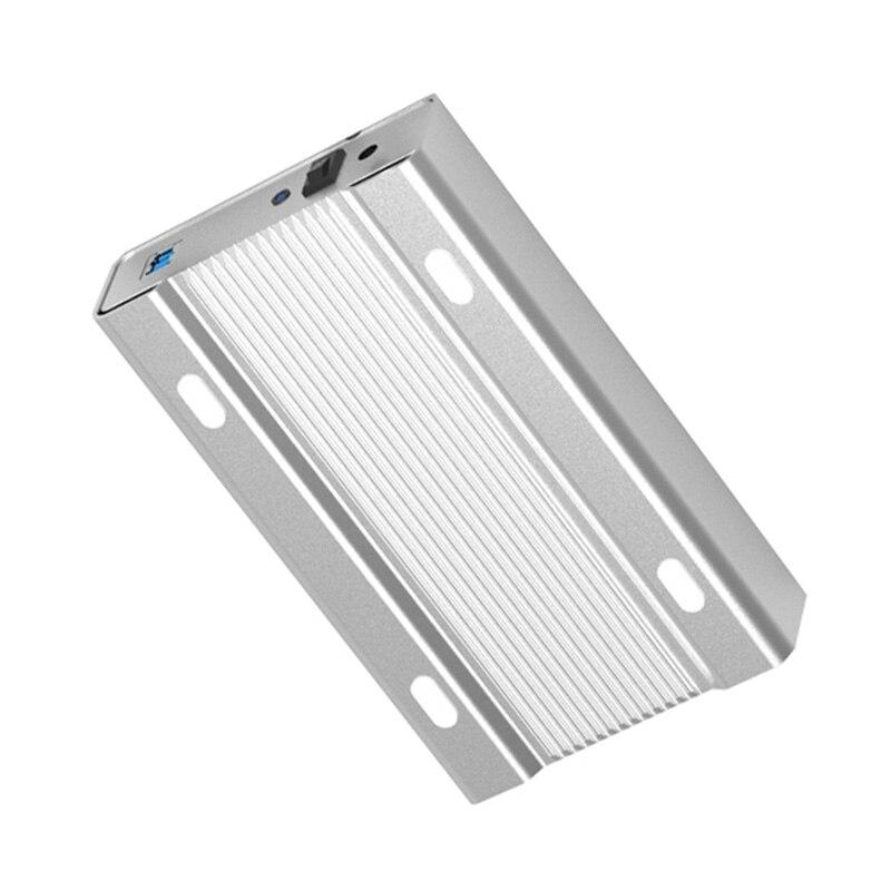 Blueendless 3 5 Inch Aluminum Alloy Hdd Case Mobile Hard Disk Box Usb 3 0 Sata