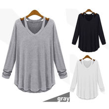 Autumn New Fashion Women Clothing Ladies Long Sleeve Casual Loose Cotton Tops Shirt Lady Clothes
