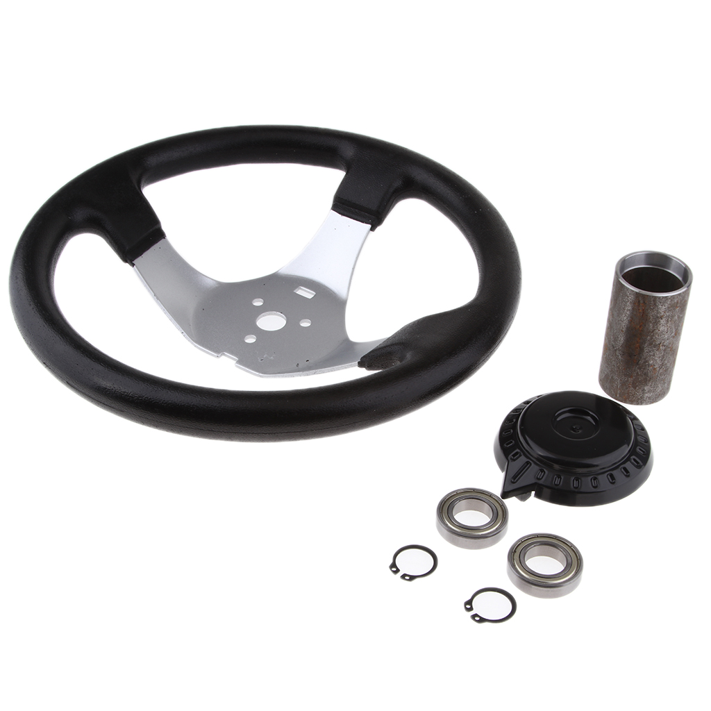 300mm 150CC 250CC Go Kart Quad Steering Wheel For Kandi JCL