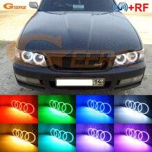 Для Nissan Laurel Club S C35 1997 1998 1999 2000 2001 2002 отличные РФ контроллер Bluetooth Multi-Цвет RGB светодио дный Ангельские глазки комплект