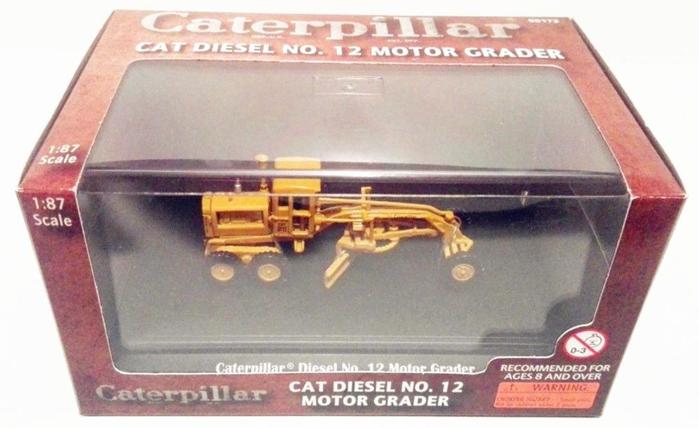 Norscot 1/87 HO Caterpillar Cat Diesel No 12 Motor Grader Diecast model-in Diecasts & Toy Vehicles from Toys & Hobbies    2