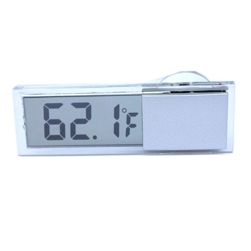 Image 5 - Digital Weather Station Wireless Sensor Window Hydrometer Indoor Outdoor Thermometer Temperature for Baby Bedroom-in Clocks from Automobiles & Motorcycles