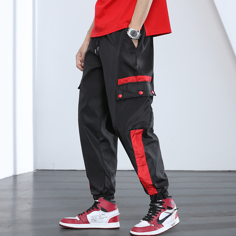 Casual Pants 2019 Spring New Fashion Cotton Men's Harem Streetwear Hot Sweatpants Hip Hop Free Shipping Chinese Style Black