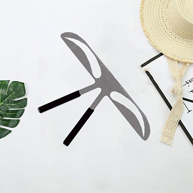 DIY Eyebrow Ruler Makeup Shaping Position Measure Tools Eyebrow Stencils Ruler Beauty Balance Tattoo Stencil Template New 3