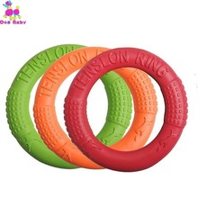 Dog Flying Discs Pet Training Ring Interactive Toy Portable Outdoors Large Toys Products Motion