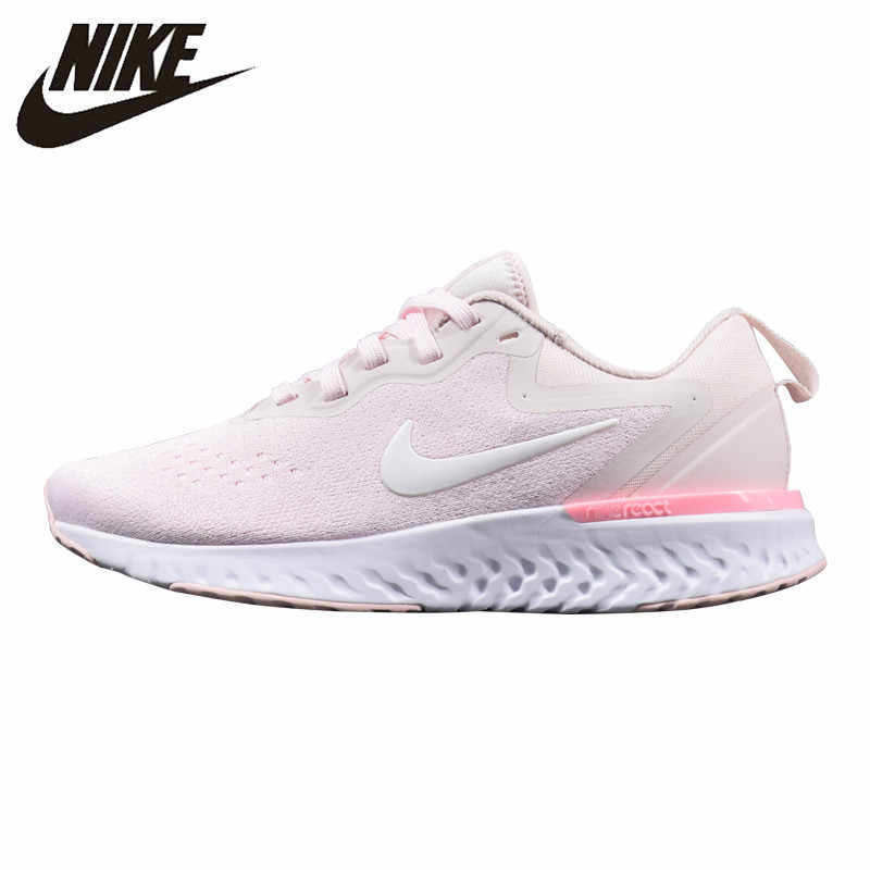 3b367b11a0ac Nike Odyssey React Women s Running Shoes Shock Absorption Breathable Wear-resistant  Lightweight Sneakers AO9820-
