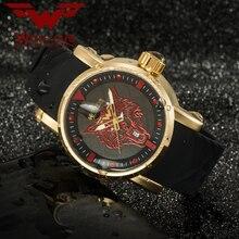 Оригинальные дизайнерские персонализированные спортивные мужские часы WOLF CUB 30 бар Langtou Japan original movement