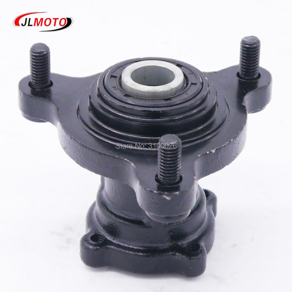 Front 90mm 3*M8 15mm Stud Wheel Hub Fit For 50cc 110cc 125cc ATV 6 7 8 Inch Rim Tire Go Kart Buggy Karting ATV Quad Bike Parts