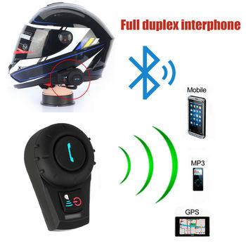 Motorcycle Helmet Headset Motorbike Helmet Bluetooth Intercom Motor Interphone Communication System