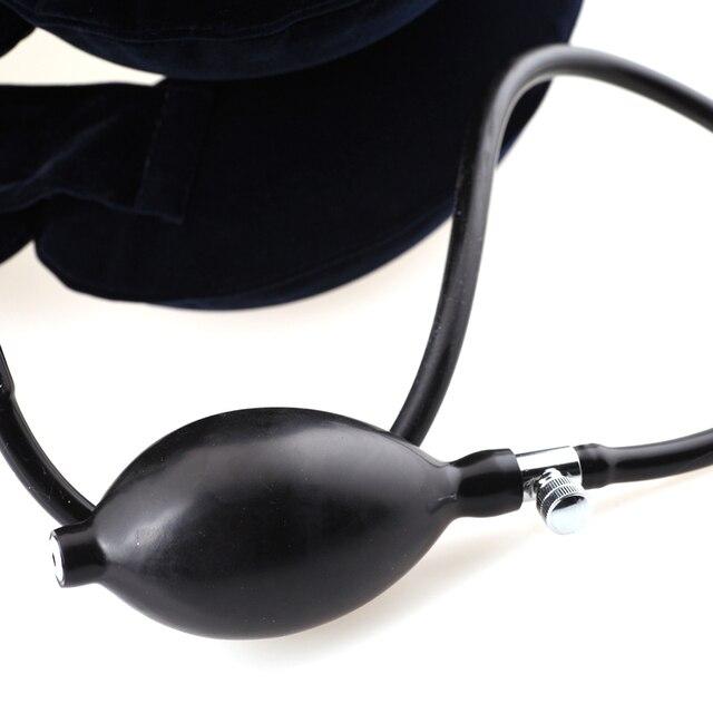 Фото надувной массажер yuwell терапия тяжестью шеи шейных позвонков цена