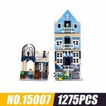 15007 серия из печати Европа рынок уличные дети сборка орфография вставка Alpinia оксифилла строительные игрушки 1257 шт
