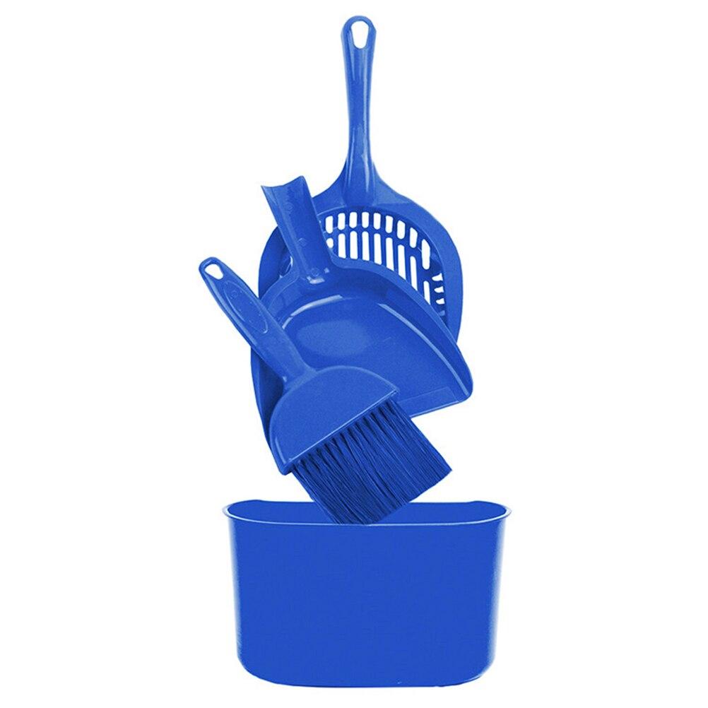 Angemessen 4 Stück Tragbare Durable Kunststoff Katzenstreu Kätzchen Reinigung Werkzeug Set Scoop Sand Schaufel Pet Produkte Schaufel Pet Claening Zubehör Chinesische Aromen Besitzen