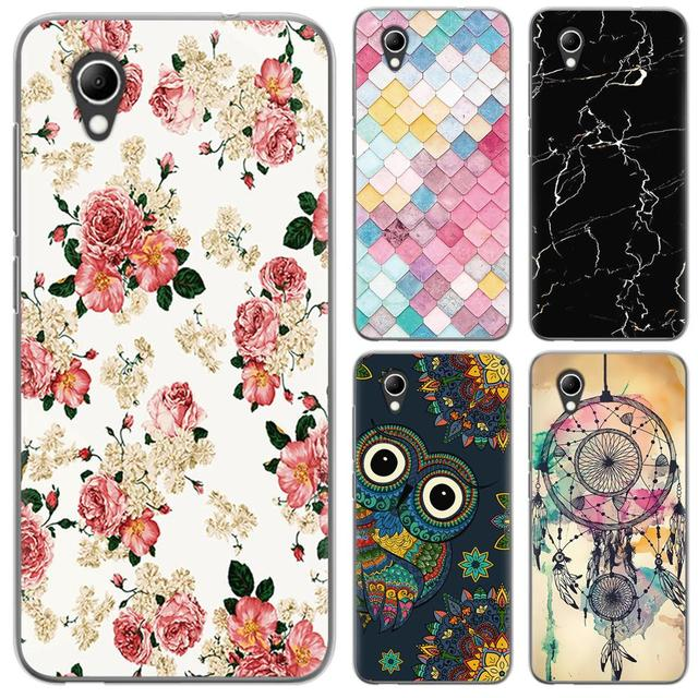 the latest 4cffa 98215 US $0.99 20% OFF|Phone Case For Vodafone Smart E9 Fashion Painted TPU  Silicone Cover Back Phone Cover-in Fitted Cases from Cellphones & ...