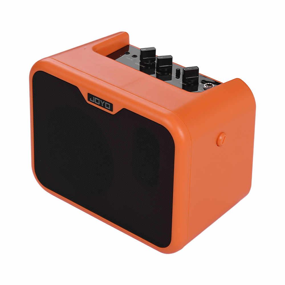 JOYO MA-10A Мини Портативный акустический гитарный усилитель, динамик 10 Вт усилитель Нормальный/яркий двойной канал с адаптером питания