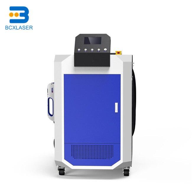 De alta precisión de posicionamiento y 3D Limpieza de 30/50 W/100 W/200 W láser de fibra máquina de limpieza para molde de plástico residuos de limpieza