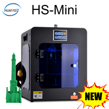 HUAFAST HS-Mini 3D Printer New FDM Assembled Cheap Printers 3d Drucker Fast Printing DIY High Quality Plus  Size 150x135x150mm