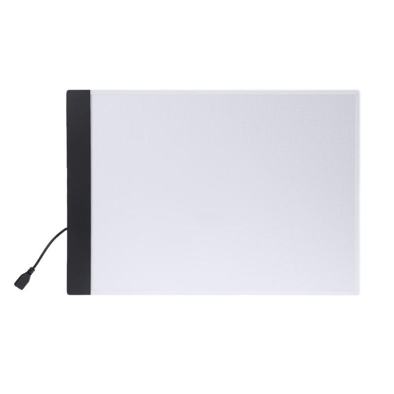 USB LED A4 Paper LED Copy Pad Desk Art Drawing Tracing Stencil Writing Board Touch Type Artist Table Plate