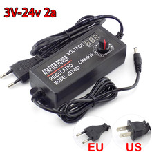 Adjustable AC DC 3V 24V 2A homecare 100-220V Power Supply Power Adapte
