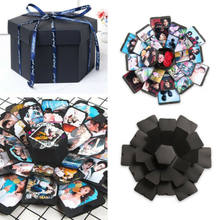 Creative Lovers Romantic Surprise Explosion Box DIY Scrapbook Photo Album For Wedding Anniversary Gift HOT SALE(China)