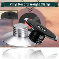 350g Aluminum Alloy Disc Stabilizer Turntable Part LP Vinyl Record Weight Stabilizer Clamp for Vibration Vinyl Turntables