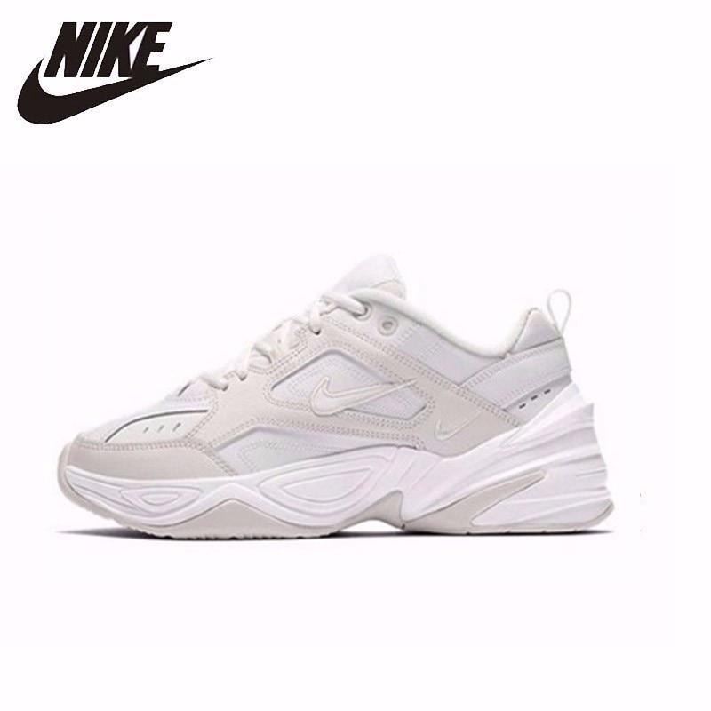 NIKE nouveauté M2K TEKNO D'origine chaussures pour femmes Lumière Sports de Plein Air chaussures de course baskets respirantes # AO3108