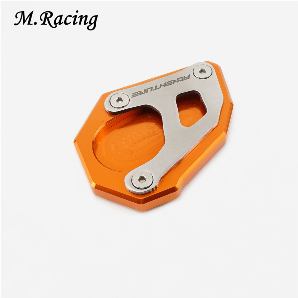 Motorcycle Parking Stand Extension Base Plate For 1290Adventure 1050Adventure 1090Adventure 1190Adventure 1290 Super Adventure R