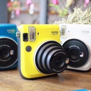 Image 5 - 6 couleurs Fujifilm Instax Mini 70 Photo instantanée appareil Photo instantané rouge noir bleu jaune blanc or