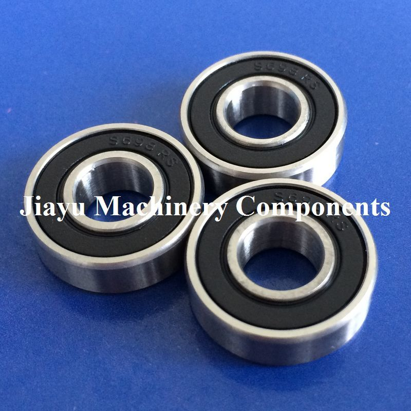 Free Shipping 10 PCS S698-2RS Bearings 8x19x6 Mm Stainless Steel Ball Bearings S698 RS