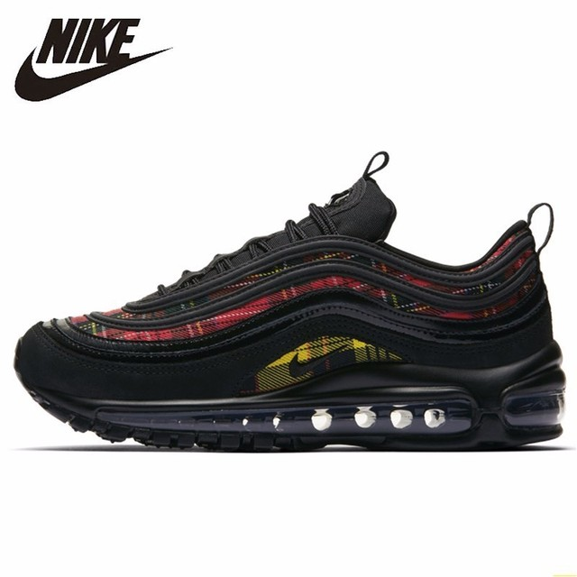 f6680dd86c6 Nike Air Max 97 Bullet Women s Running Shoes New Pattern Motion Casual Shoes  Air Cushion Outdoor Sports Sneakers AV8220 - 001