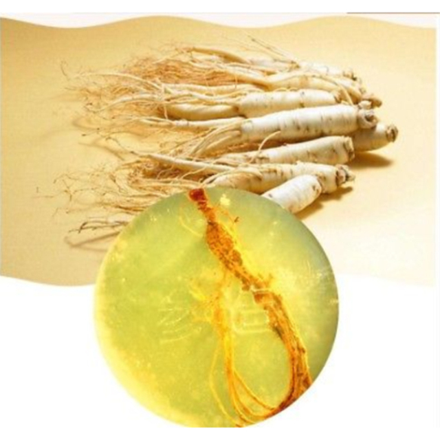 Ginseng Revitalizing Soap Anti Fungus Bath Whitening Skin Lightening Soap  Handmade Face Body 2 In 1 Soap TSLM1 2