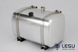 Image 1 - LESU металлический 85 мм гидравлический топливный бак для самосвала 1/14 RC Tmy модель автомобиля DIY TH02473