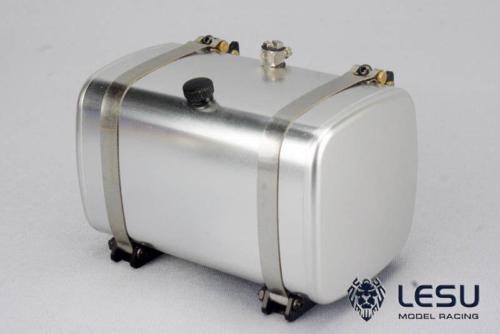 Lesu金属85ミリメートル油圧燃料タンクダンプトラック用1/14 rc tmyモデルカーdiy TH02473