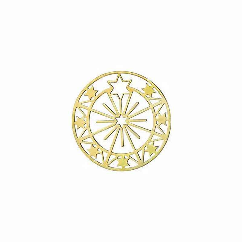 Em 2019, a mais recente marca de design starry sky ferris roda estrela brincos brincos simples para mulher.