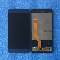 Originale Axisinternational Per Huawei Honor V9/Honor 8 Pro DUK-L09 DUK-AL20 Con Cornice LCD Screen Display + Touch Screen del Pannello digitizer