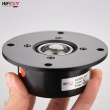 Hifidiy 라이브 x1iis 4 인치 4.5 트위터 스피커 유닛 알루미늄 패널 투명 실크 멤브레인 6ohm30w 트레블 라우드 스피커 94 ~ 120mm