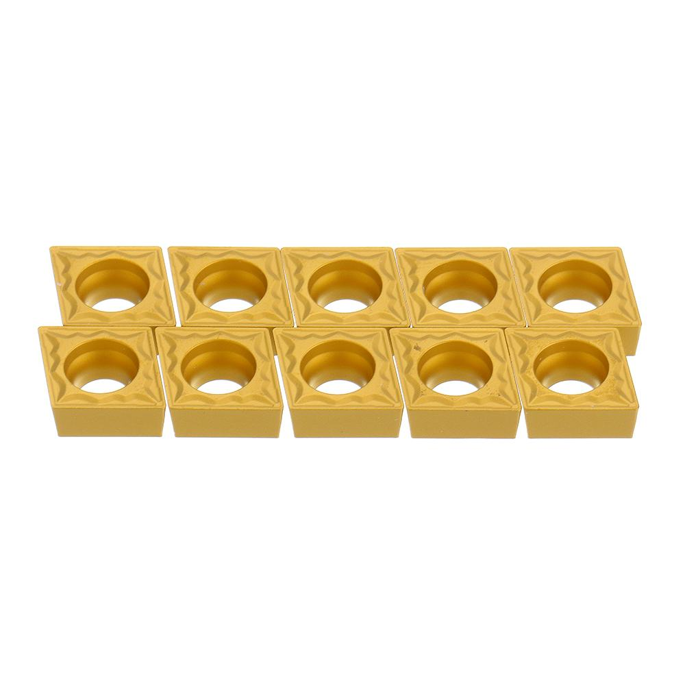 10pcs CCMT09T302/04/08-HMP NC3020 Carbide Insert SCLCR Turning Tool Cutter for Ceramic Metal New10pcs CCMT09T302/04/08-HMP NC3020 Carbide Insert SCLCR Turning Tool Cutter for Ceramic Metal New