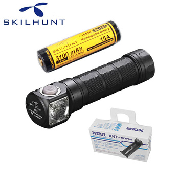 Skilhunt H03 Led Lampe Frontale CREE XML-2 U4 LED 1200Lm HeadLamp Hunting Fishing including battery and charger