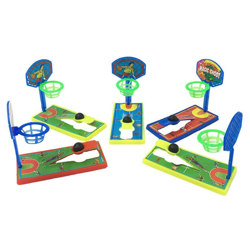 New Mini Pocket Basketball Desktop Shooting Developmental Basketball Machine Anti-stress Kids Puzzle Toy For Gift